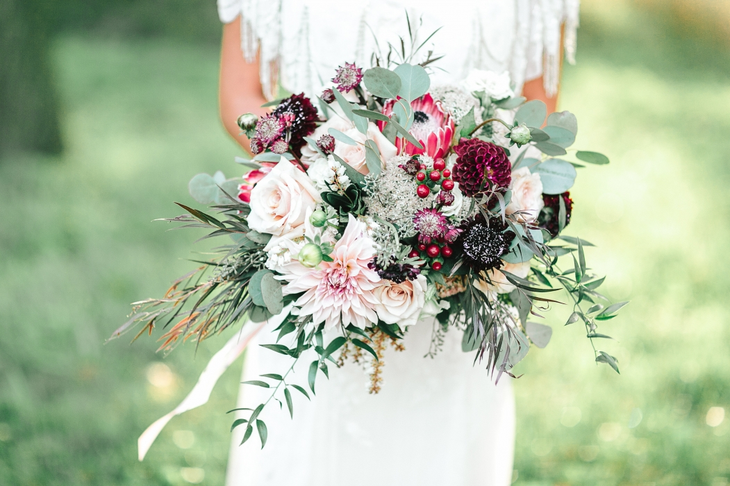 Tamara Lockwood Photography, Rustic autumn bouquet}