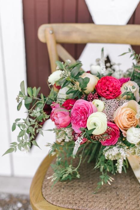 Bouquet close up }