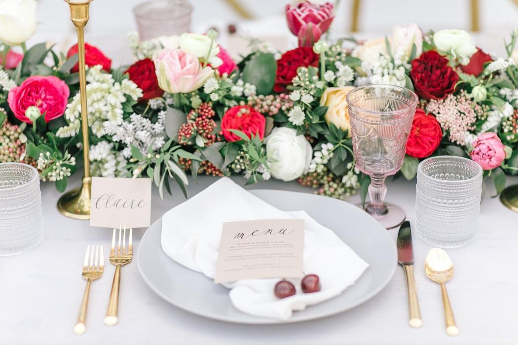 Tablescape florals}
