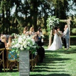 Cambium Farms wedding ceremony