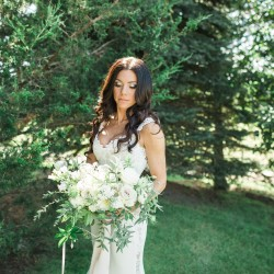 Chantelle at her Cambium Farms wedding