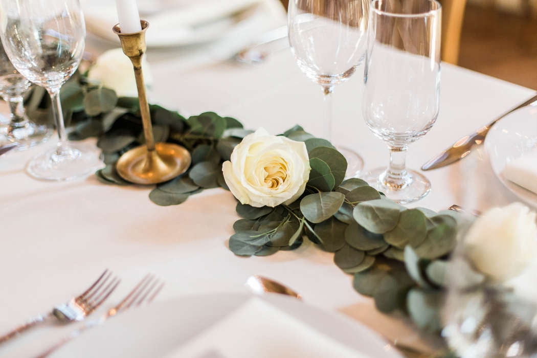 Cambium Farms wedding table}