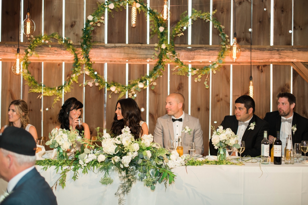 Cambium Farms, Head table}