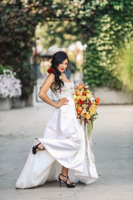 Gown by Valencienne Bridal}