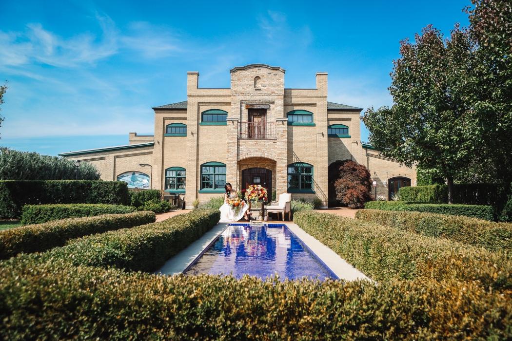 The beautiful Hacienda Sarria}