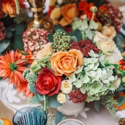 Table floral details