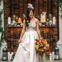 Gown by Valencienne Bridal