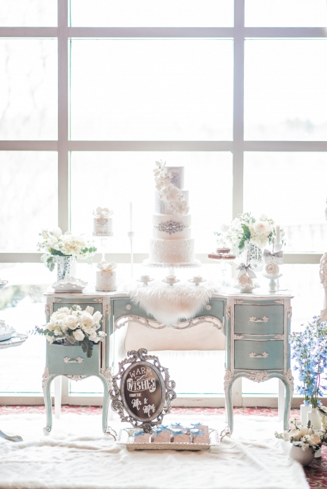 The sweets table}
