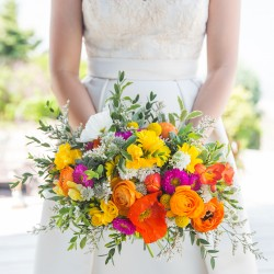 Lauren Garbutt Photography, bright spring bouquet, Balls Falls