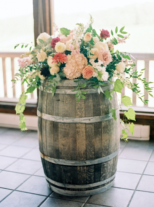 Photos by Caileigh, Vineland Estates Winery Wine barrel designs in the Carriage House
