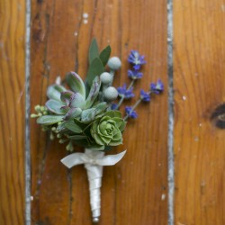 Eva Derrick Photography, rustic lavender boutonniere, Hernder Estates Winery