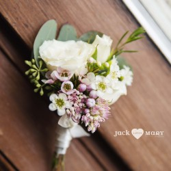 Jack Loves Mary Photography, boutonniere, Vineland Estates Winery