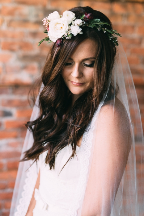 Youngglass Photography, Brides Floral crown, The Spice Factory