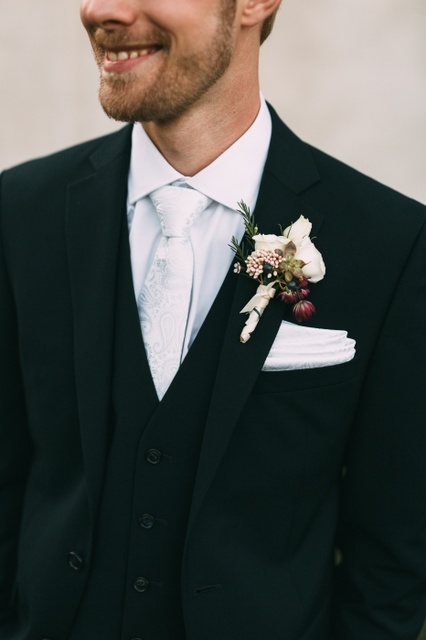 Youngglass Photography, boutonniere, The Spice Factory