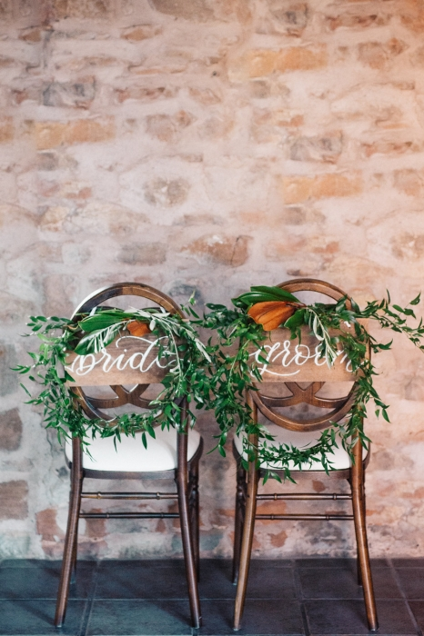 Ugo Photography, bride and groom chair design, Vineland Estates Winery Chairs - Simply Beautiful Decor