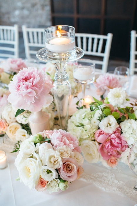Jessica Little Photography, pretty pink and white tablescape, Vineland Estates Winery.
