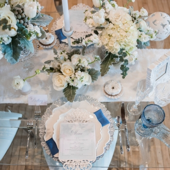 "A Styled Shoot Inspired by Disney's ""Frozen"" Featured on Weddingbells.ca"