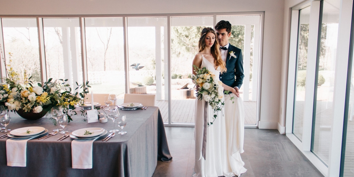 SUBTLE & SENSUAL WEDDING STYLE PHOTO SHOOT Featured on The Wedding Co. Blog