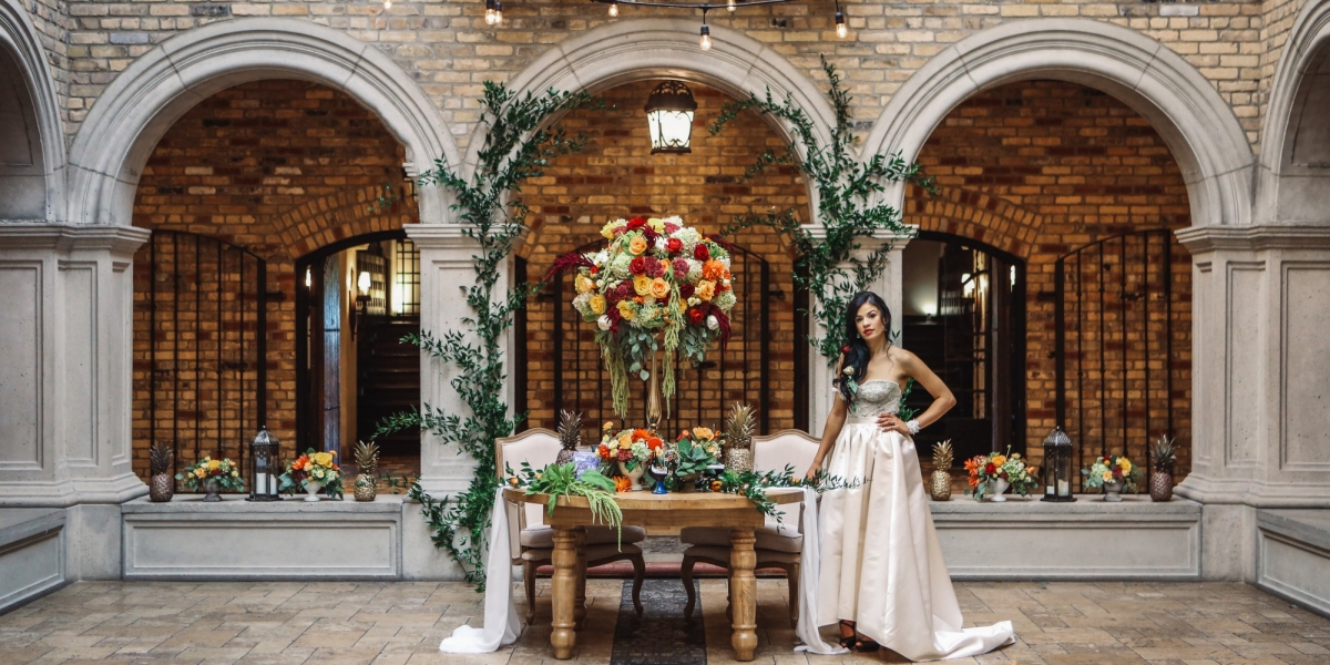 AMOR DE LISBOA STYLED PHOTO SHOOT - Flavour & Flair Featured in Elegant Wedding Magazine Winter/Spring 2018 Issue