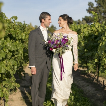 Jessica & Robert Wedding at Hernder Estates Winery, Eva Derrick Photography